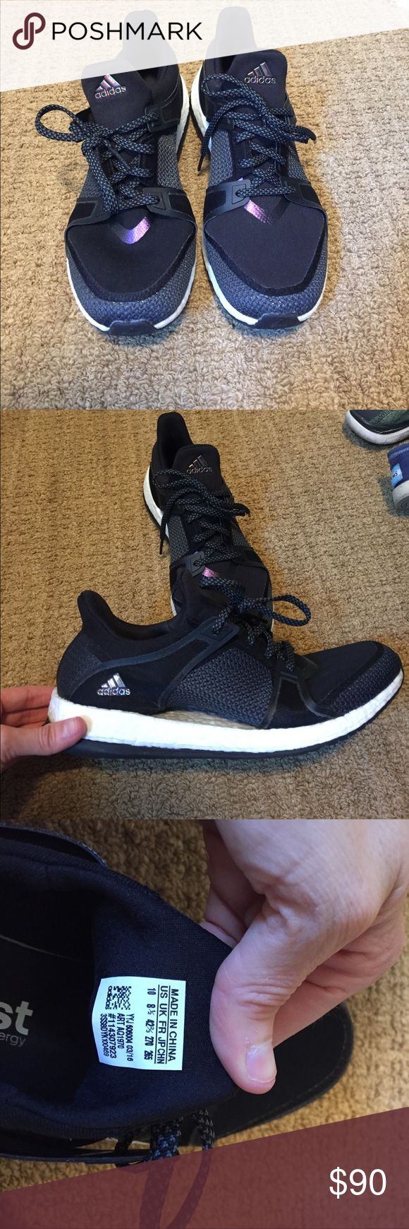 Adidas Pure boost X Sneakers Adidas Pure boost X Sneakers in black; perfect comditon; worn once. Adidas Shoes Sneakers