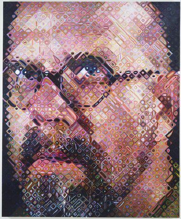 Chuck Close: Selfportrait, Favorite Artists, Fine Artists, Art Inspiration, Close Self Portraits, Chuck Close, Portraits Paintings, Character Design, Favourit Artists
