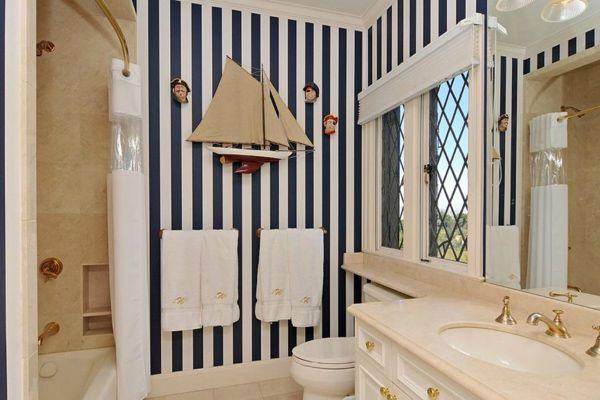 пиратская ванная комната