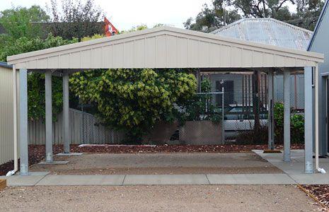 Free 2 Car Carport Plans | Sidach: Sheds Built Tough | Carport with Gable Roof