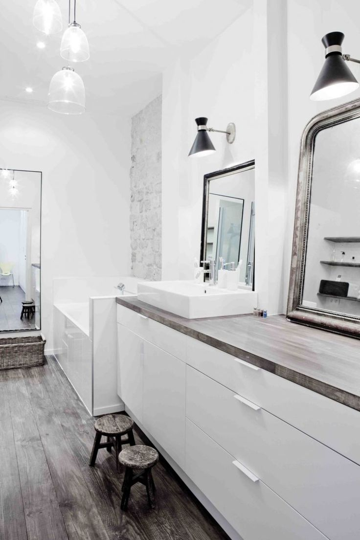 1000 id es sur le th me salle de bains appliques sur. Black Bedroom Furniture Sets. Home Design Ideas