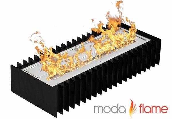 Moda Flame GRT4024 24 Inch Ventless Bio Ethanol Fireplace Grate Burner Insert