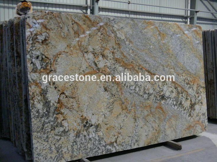 prefab homes cheap Yellow granite stone slab for sale