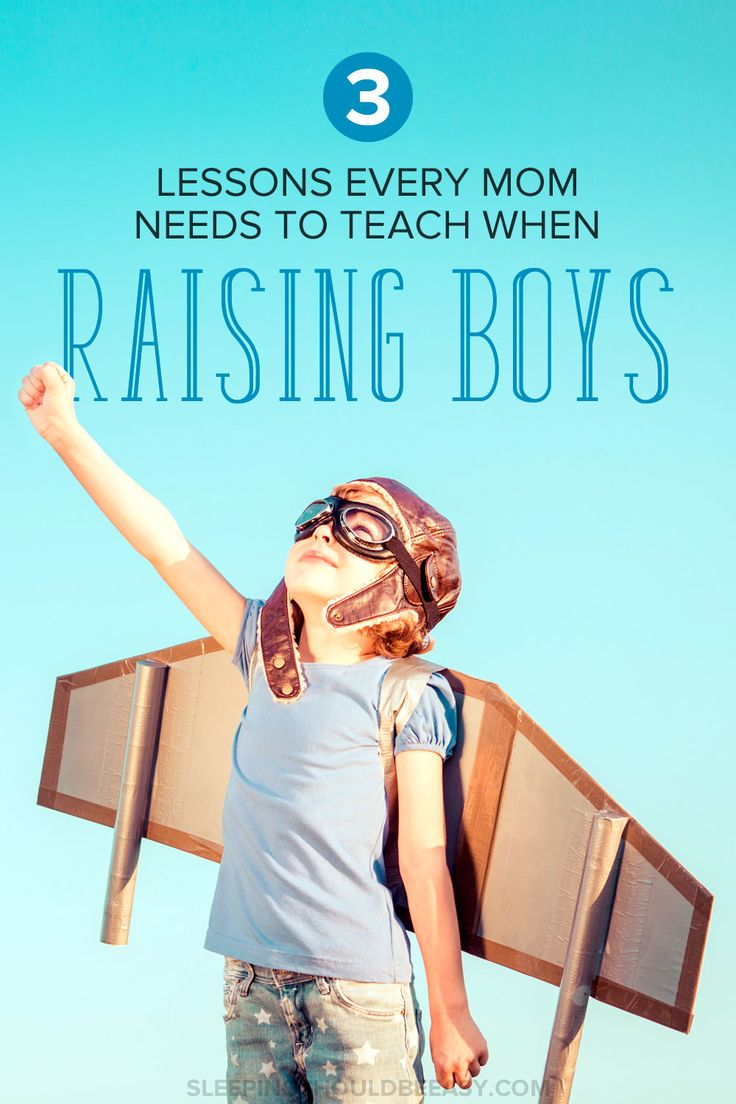 3 lessons for every mom raising boys to be men in her family. Whether you have one boy or more, keep these tips in mind as you're raising a confident son who is kind and curious as well. A must-read if you're a mom of boys!