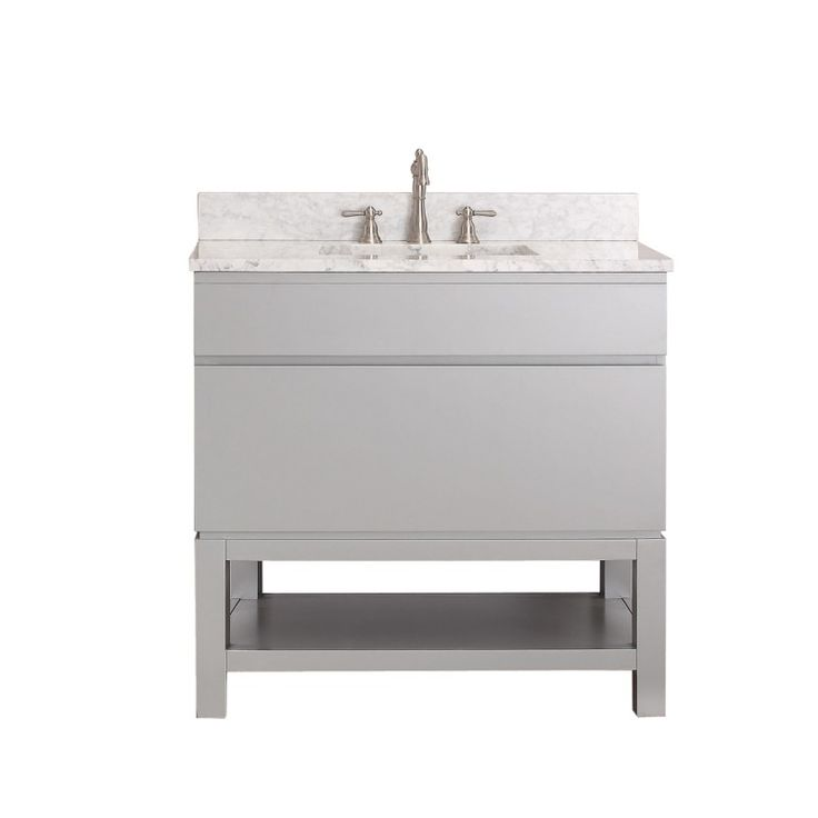 Avanity Tribeca 36 In. Vanity Combo With Base