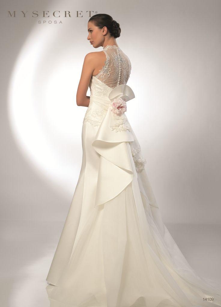 Abito Sposa Con Coda My Secret Sposa  http://www.nozzemeravigliose.it/gallery-dettaglio.php?id=432