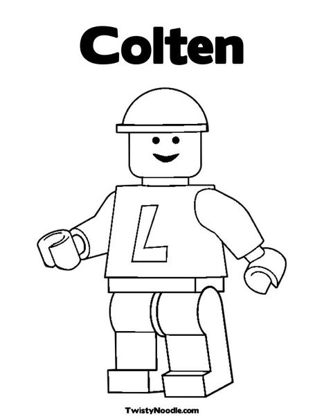 Printable Coloring Pages With The Name Brody On It