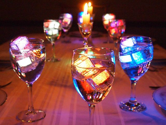 The LiteCubes LED Ice Cubes are guaranteed to light up (pun intended) any party. LiteCubes look and also function like real ice cubes. You can put them in the freezer and use them to cool down drinks. However, they also light up in 8 different colors, instantly impressing everyone at your party.