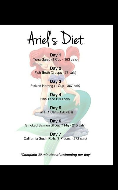 Ariels Diet #diet #skinny #thinspo #thinspiration # ...