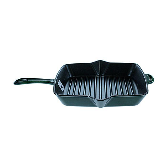 Сковорода-гриль зеленая Сковорода-гриль 26х26 см  Сковорода-гриль 30х30 см