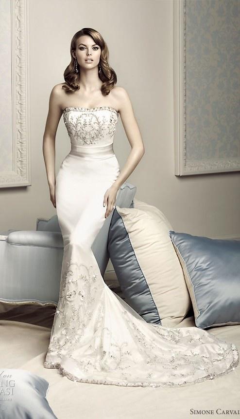 Simone Carvalli Wedding Dress