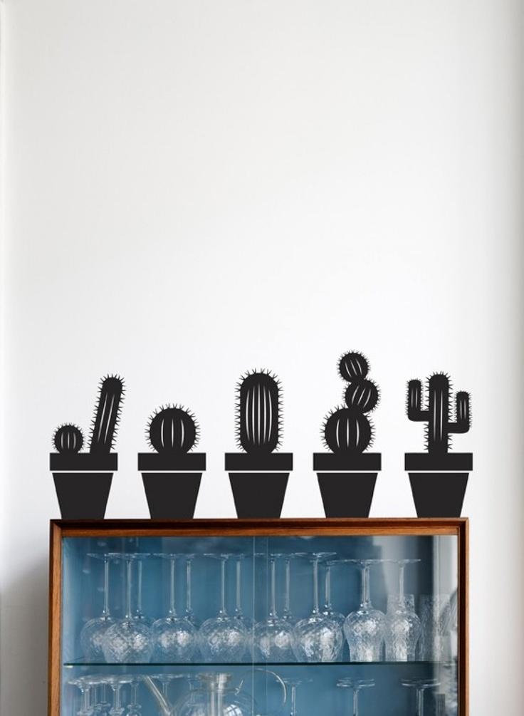 Vinilo Cactus Encuéntralos en www.viloop.com