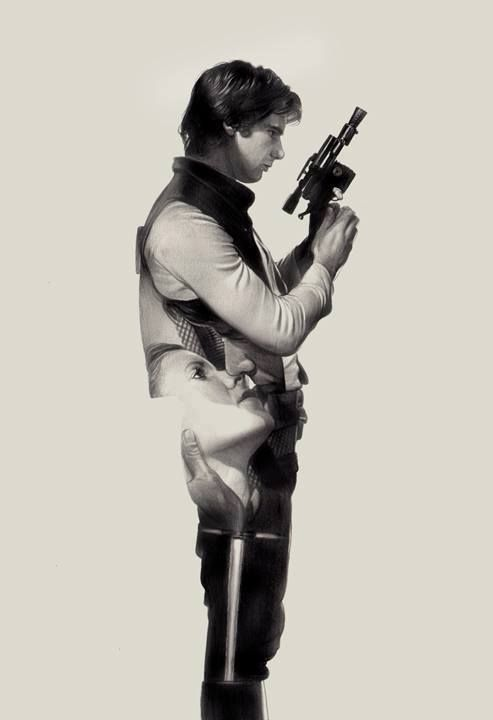 Star Wars - Han Solo by Greg Ruth *