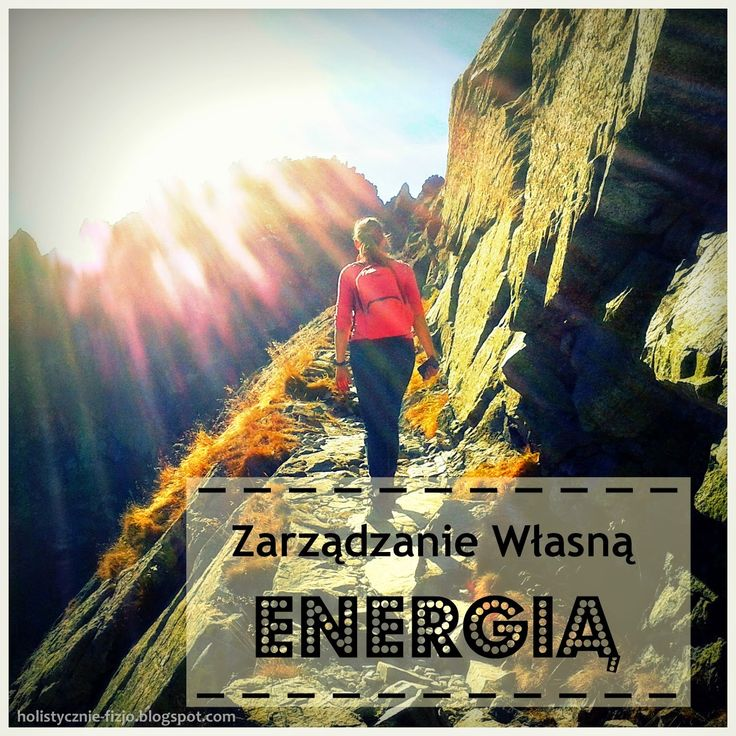 Zarządzanie własną energią