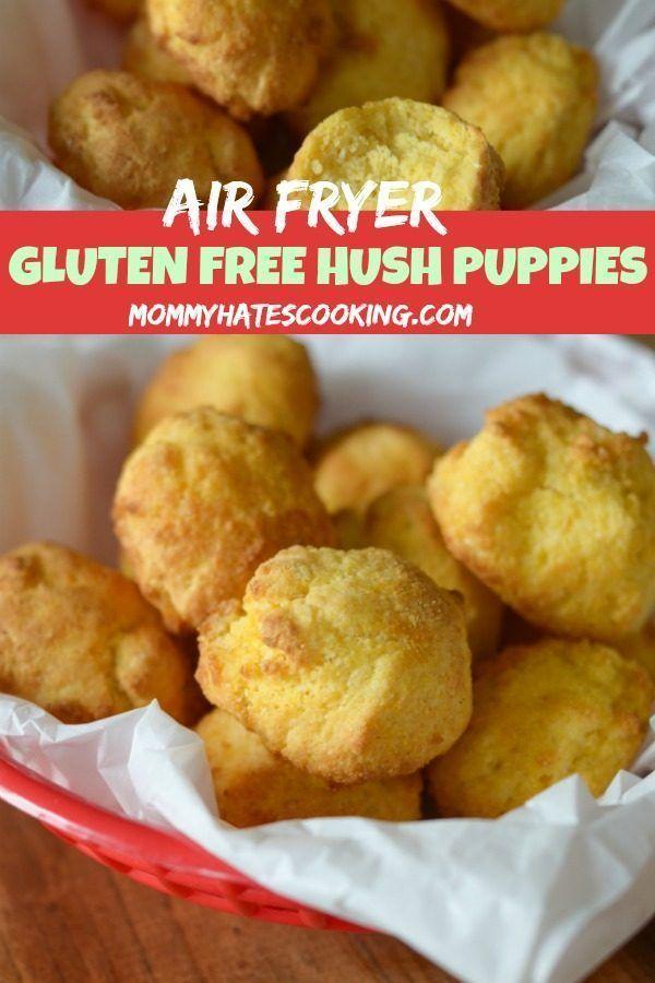 Air Fryer Hush Puppies Recipe Food Recipes Air Fryer Recipes Hush Puppies Recipe
