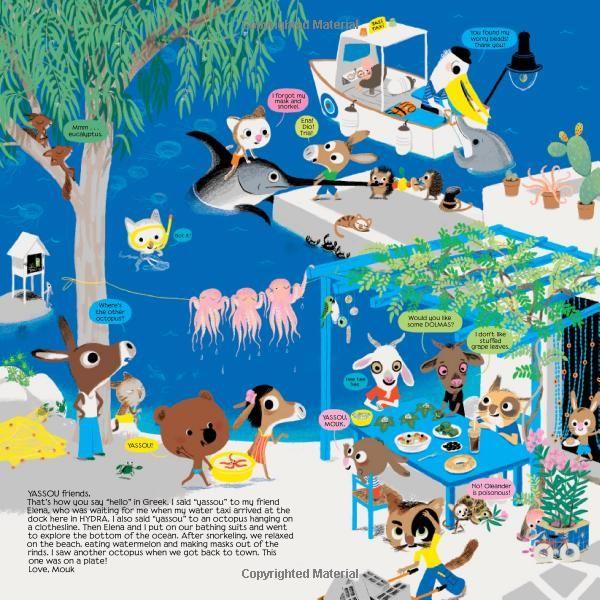 Around the World with Mouk (Sticker Book): Amazon.co.uk: Marc Boutavant: Books