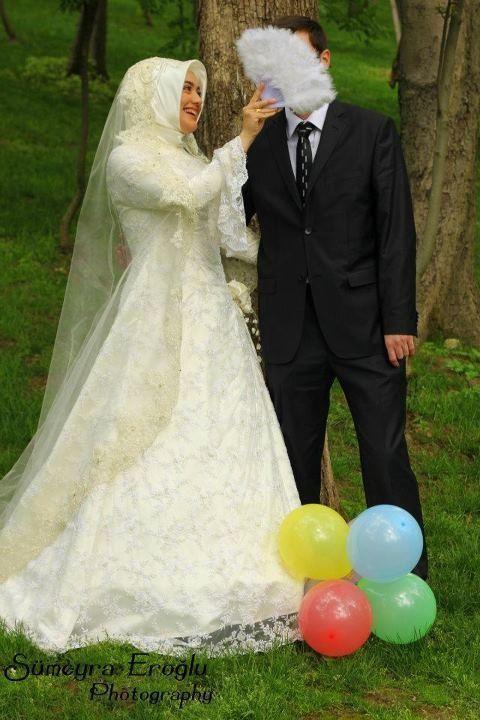 Hijab Wedding Fashion ~