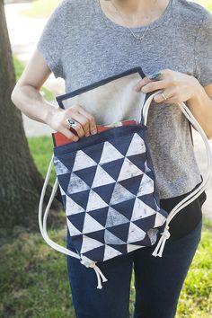 Самодельный рюкзак