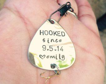 Fishing Lure For Him Boyfriend Gift Personalized by natashaaloha