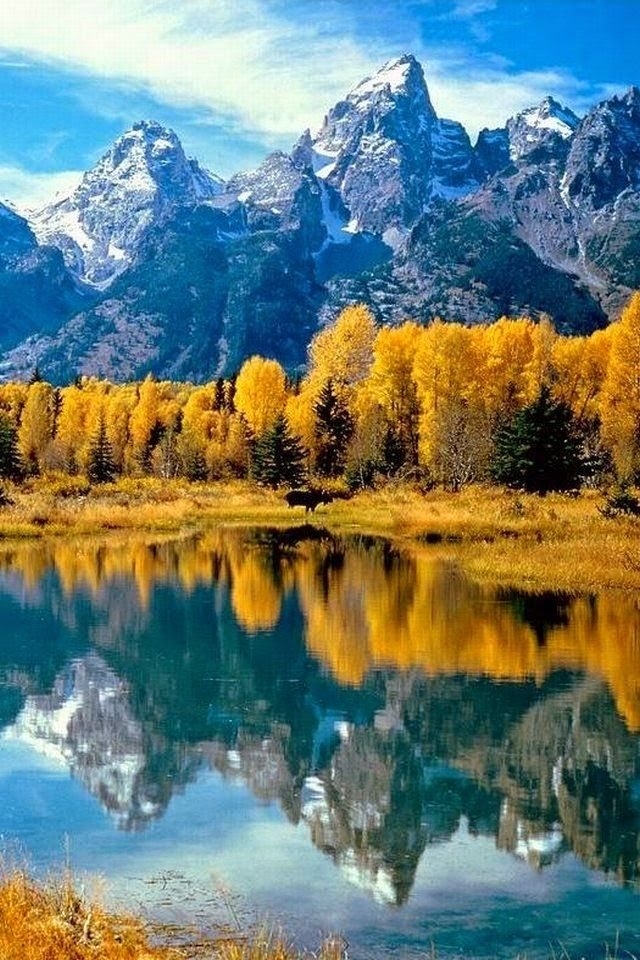 Grand Teton National Park Rocky Mountains Northwest Wyoming, USA