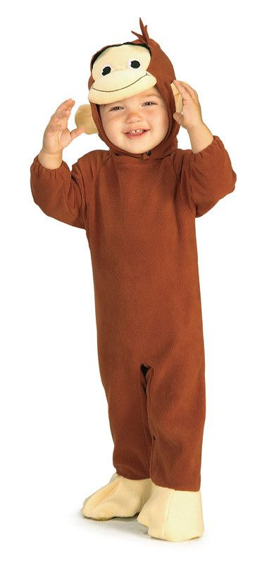 Curious George Baby Costume