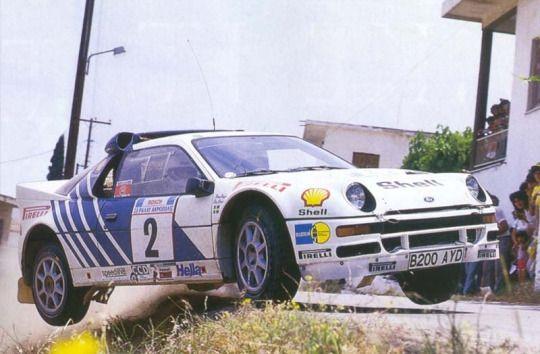 Happy birthday Stig Blomqvist! Rallying legend.