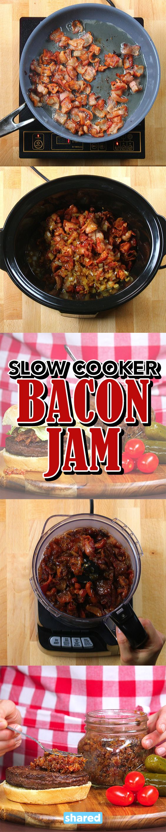 Slow Cooker Bacon Jam More