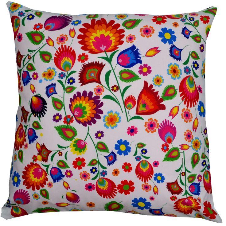 Designerska poduszka dekoracyjna Folk № gd416
