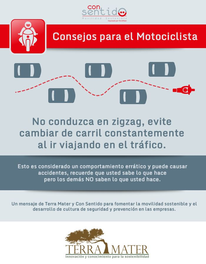 Consejos para el motociclista