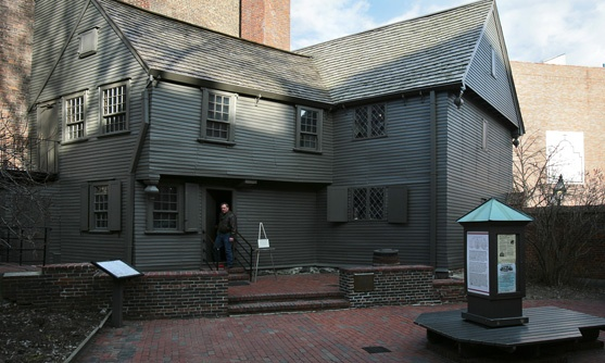 Boston  Paul Revere's house