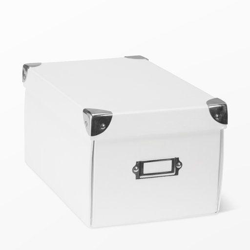 Förvaringsbox med lock, 26x15,5 - Förvaring- Köp online på åhlens.se!