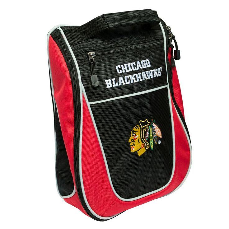 Team Golf Chicago Blackhawks Golf Shoe Bag, Multicolor