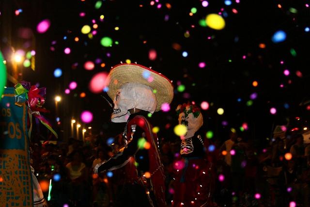 San Antonio Fiesta Flambeau Parade