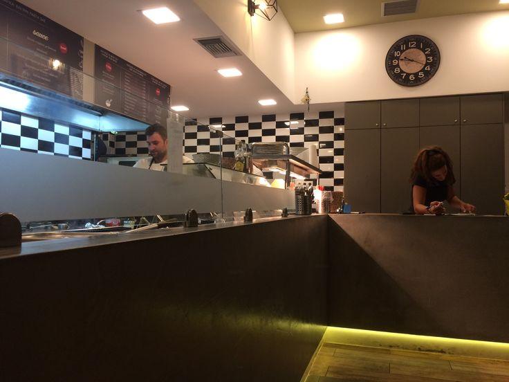 Spontini Street Food Interior Decoration