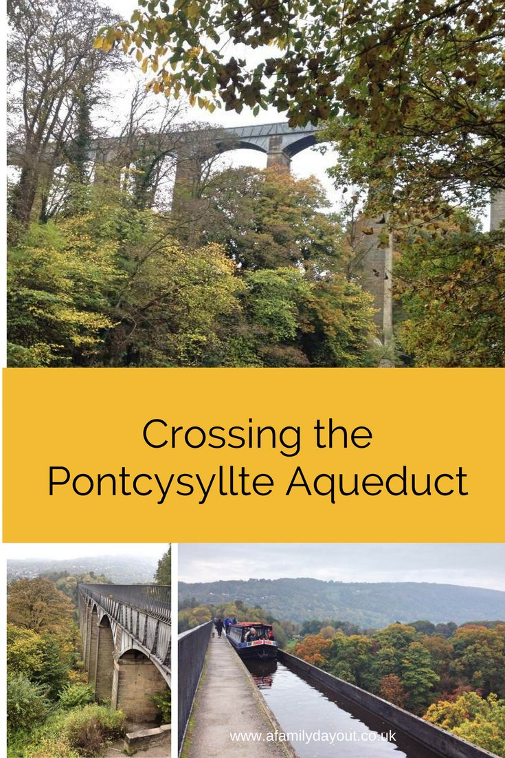 Walking across the Pontcysyllte Aqueduct