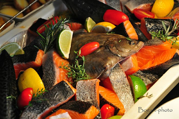 Salmon at Market brunch of Paris Budapest Restaurant