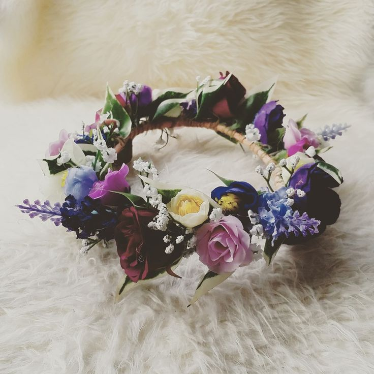 Image of ..I love.. BAMBINO FLOWER CROWN