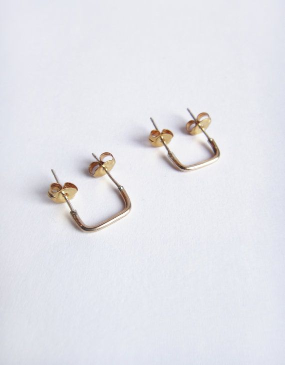 Also NEW! The Eskell Double Piercing Connector Bar Stud. It is the perfect lil dude to add to your everyday accessories! The bar stud connects multiple piercings together. (Think single to double earring holes.) This baby is 14k Gold Filled so you won't ever have to worry about it changing colors on you.  If you're concerned about size, please inquire about measurements. We can customize the stud to fit between your piercings!  $30 for single stud / $60 for pair