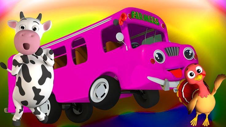 Roues sur le bus | comptine | 3D Song For Kids | Kids Rhymes | Wheels On...Les roues de l'autobus arrivent, et la prochaine étape est la terre amusante de Farmees! Vos amis de la ferme sont déjà monter et descendre dans le bus. Bébés, nous sommes sûrs que vous ne voulez pas manquer cette promenade musicale remplie de rimes drôles. Alors venez nous rejoindre bientôt pour un temps amusant! #FarmeesFrancaise #wheelsonthebus #enfants #comptine #éducatif #bébés #préscolaire #rimes #apprentissage