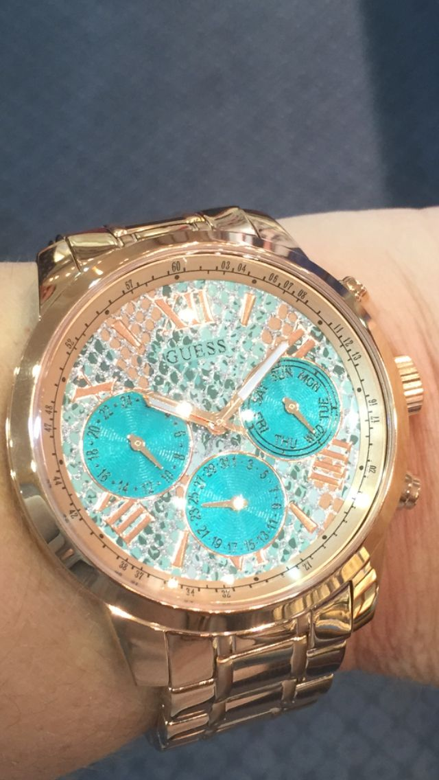 Guess watch, ice blue