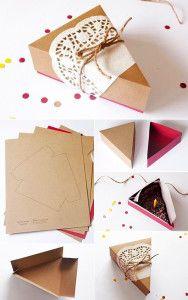 geschenkverpackung-basteln-als-faltkarton-für-ein-Tortenstück