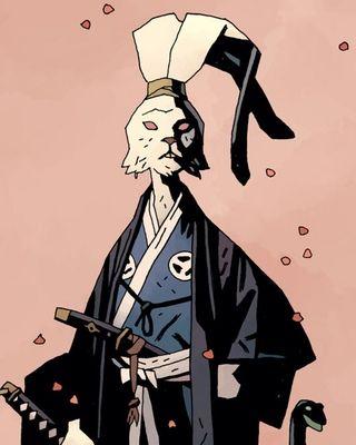 Usagi Yojimbo Art by Mike Mignola.