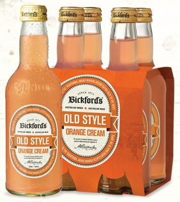 Bickford's Orange Cream follows age old recipes to deliver the authentic, smooth soda taste from its unique, creamy flavour. Enjoy on its own, or combine with vanilla ice cream to create a delicious home-made float! Contains no artificial colours or flavours.