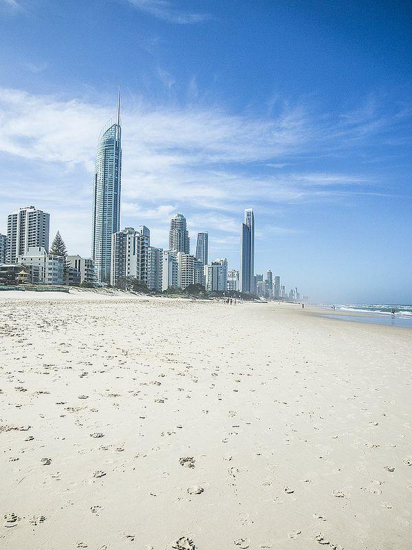Gold Coast beach view