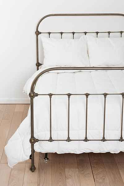 Plum & Bow Callin Iron Bed - Urban Outfitters// someday