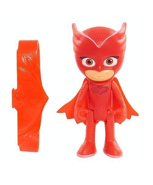 PJ Masks Owlette Light Up Figure Hot Toys 3 Inch Amulet Bracelet New #PJmasks