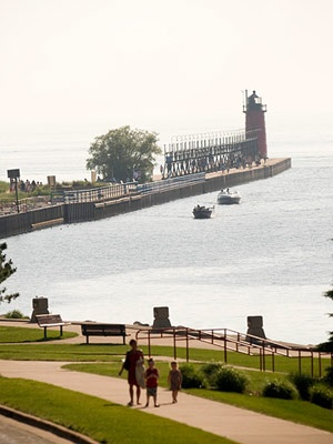 South Haven, Michigan.  What's not to love? MY HOME TOWN!
