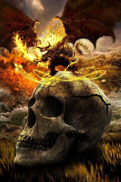 Skulldron by Saif Kratos