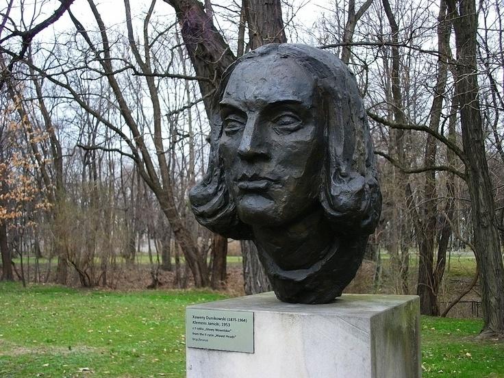 xawery dunikowski, klemens janicki (z cyklu: głowy wawelskie), 1953, brąz, królikarnia-warszawa