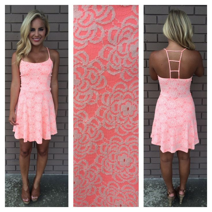 Lace Ladder Back Dress | Dainty Hooligan Boutique